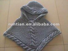 2012 New Chuncky Cable Knitting Winter Shawl