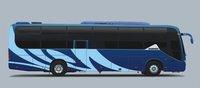 large bus dimension GDW6121HK passenger coach