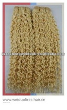 Super quality 100% human hair weave,beautiful jerry curl/bohemian human weave hair in stock
