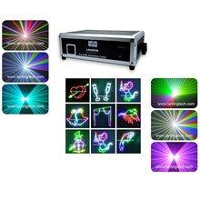 Cheap 350mW Full color animation laser light , Dj disco night club lighting RGB laser show