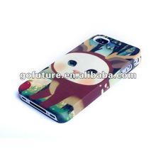 Rubber oil stylish designd smart cover case for mobilephone