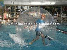 China transparent water bouncing ball