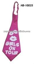 girl's hen party necktie