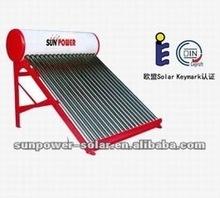 Projet capteur solaire chauffe - eau solaire non pression CE aial Solar Keymark SRCC aial certification