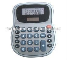 8 digits Ofifce Euro convert oval middle size 25 keys plastic dual power Desktop euro convert Tax function calculator