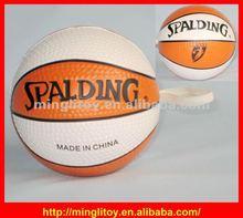 2012 TOP SALE New Designable Basketball PU Stress Ball