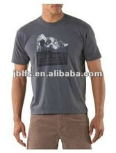 men's label organic and mountain t-shirts