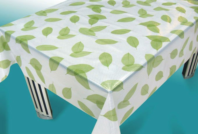 pvc non-woven flower design table cloths disposable fitted, latest design printing table cloths disposable fitted