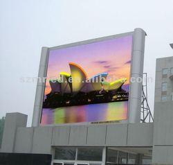 solar power advertising display