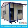 YH 20sq metre prefab porta low cost a frame cabin kits for social public housing