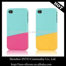 KOREA Ego Unique Colorful Slide 2-piece hard Case For iPhone 4/4G/4S