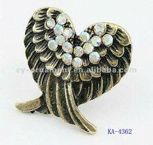 fashion ring , angel wing ring, owl rings