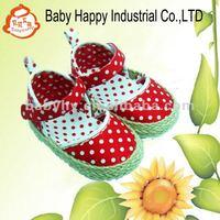 Crochet Nice Dots Soft Sole Baby Girls Sandals