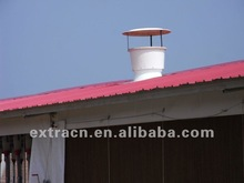 Fiberglass roof fan for livestock house