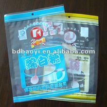 BOPP/CPP laminated clear plastic bag for sugar (alibaba China)