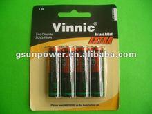 vinnic UM3/AA/R6 card battery disposable battery