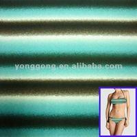 Navy blue and white stripe Swimwear Nylon spandex fabric wholesalers usa