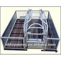 metal breeding pig cages
