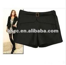 2012 Cheap Black Kahaki Cotton ladies hot shorts