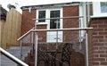 De acero inoxidable de lujo barandillas de los balcones de / diseño moderno para balcón barandilla