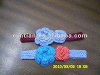 Girl's Hand Crochet 100%Cotton Headbands
