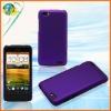For HTC Z520e One V 2012 new Arrival Grape Purple Mobile Phone Accessory