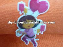 2012 new design China 3D soft pvc label