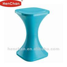Round plastic pub chair