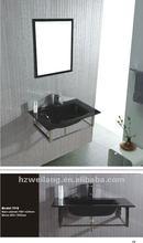 Black Color Glass wash sink