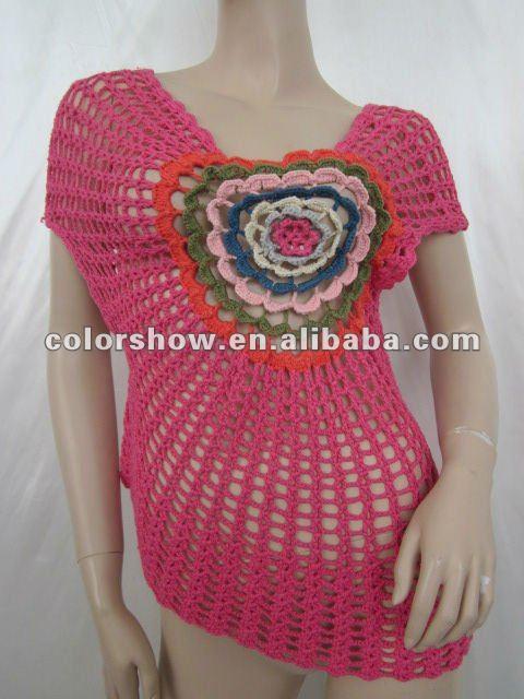 ganchillo suéter patrón