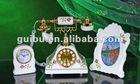 Home Hotel Luxury Decoration Telephone/Clock/Photo Frame Set