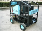 Industrial hot water high pressure washer for poultry house
