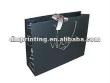 silver hot stamping matte laminated promotional bag