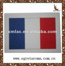 national flag paper air freshener for car