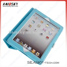 Fullbody Magnetic PU Leather Smart Cover Case for new ipad ipad3