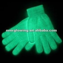 glow in dark white gloves