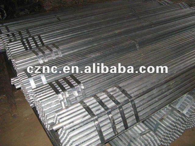 """11/2 """" tubos de acero galvanizados"""