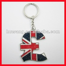 2012 London Souvenirs Metal British National Flag Keychain