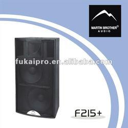two-way full range speakers F215 +