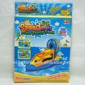 divertido jogo diy eva velocidade do barco de brinquedo