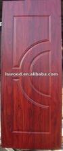 Melamine hdf molded cabinet door skin