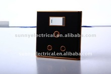 HOT! 15 amp switched socket
