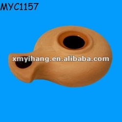 Terracotta indian oil lamp