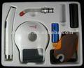 Radio de la pulsación de corriente que cura la luz LED.C, curación ligera