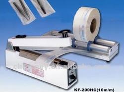 JF-200HC(10MM) Hand-Type Impulse Sealer 200HC/10mm Medical (Paper-Plastic)