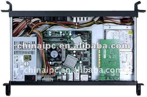 R1250 1U Black Atom Mini-ITX Server Case