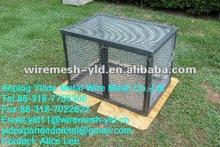 carbon steel expanded metal welded frame/animal cage