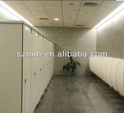 Hpl fireproof waterproof toilet partition