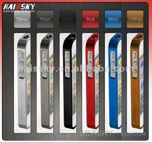 2012 various color Aluminum chrome bumper rim case for iphone 4 4S
