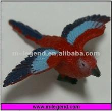 Figura plástica del pájaro del PVC